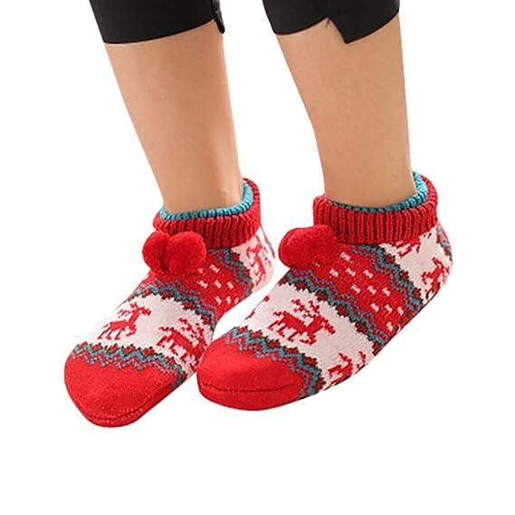 Socks Calcetines de Piso Suave Calcetines Mujer Hombres Calcetines Antideslizantes Calcetines de Deporte Calcetines Térmicos para Adult Unisex Calcetines-1: ...