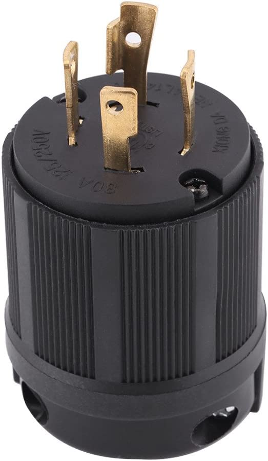 Outdoor Hot Power Locking NEMA L14-30P Twist-Lock Plug 30A 125-250V 3P 4W US ND