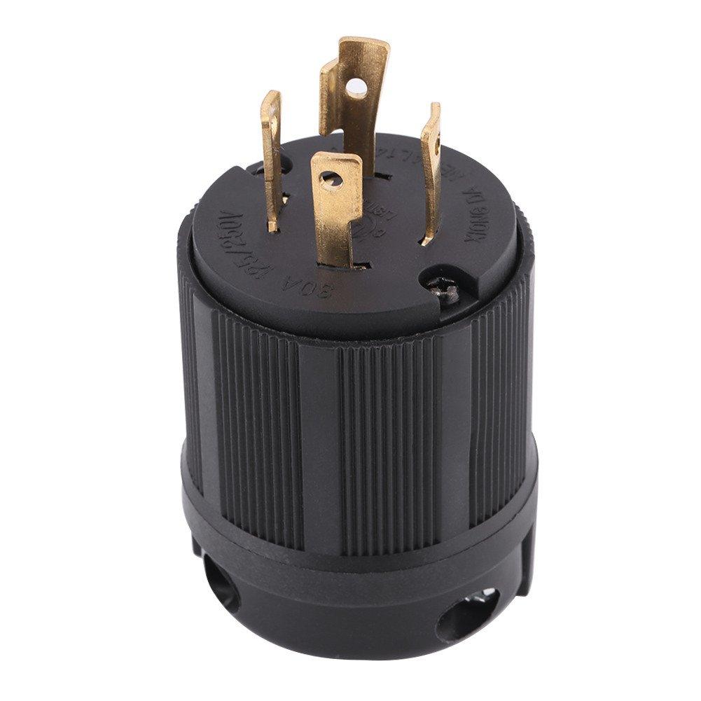30A L14-30R Twist Locking 4-Wire Electrical Female Plug Connector Receptacle $B$