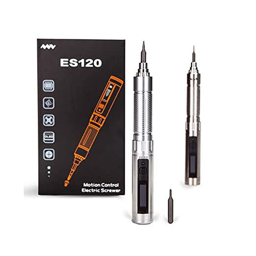 "Amazon.com: SHINA 1/8"" Chargeable Cordless ES120 Electric Motion Control Screw Driver with Led Light: Computers & Accessories"