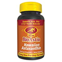 BioAstin Hawaiian Astaxanthin 12mg, 50 Count - Hawaiian Grown Premium Antioxidant...