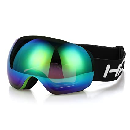 f8685569e5b Amazon.com   Ski Goggles Hicool Pro Unisex Ski Snow Skate Snowboard ...