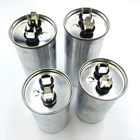 Condensador de Motor de Aire Acondicionado Compresor De Aire Acondicionado Condensador de inicio CBB65 450VAC