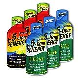 5 Hour Energy, 6 Citrus Lime + 6 Decaf Citrus 12 Count