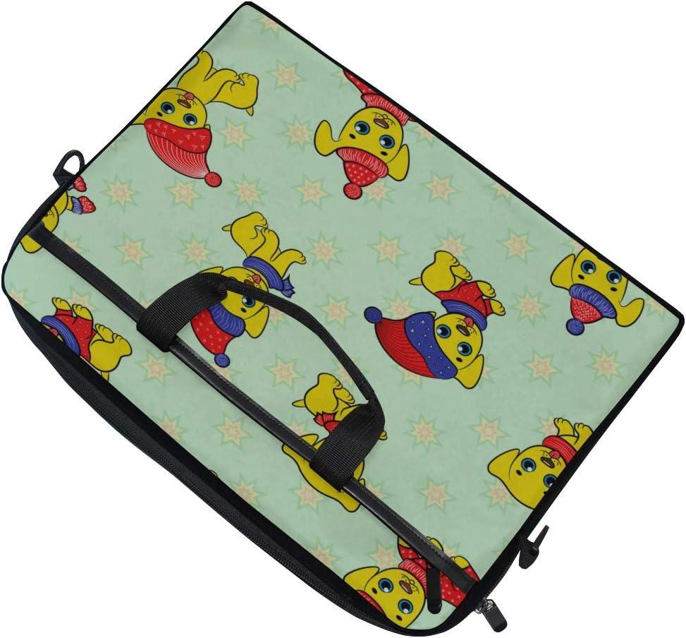 College Students Business People Office Work Laptop Bag Cartoon Kid Amusing 15-15.4 Inch Laptop Case Briefcase Messenger Shoulder Bag for Men Women