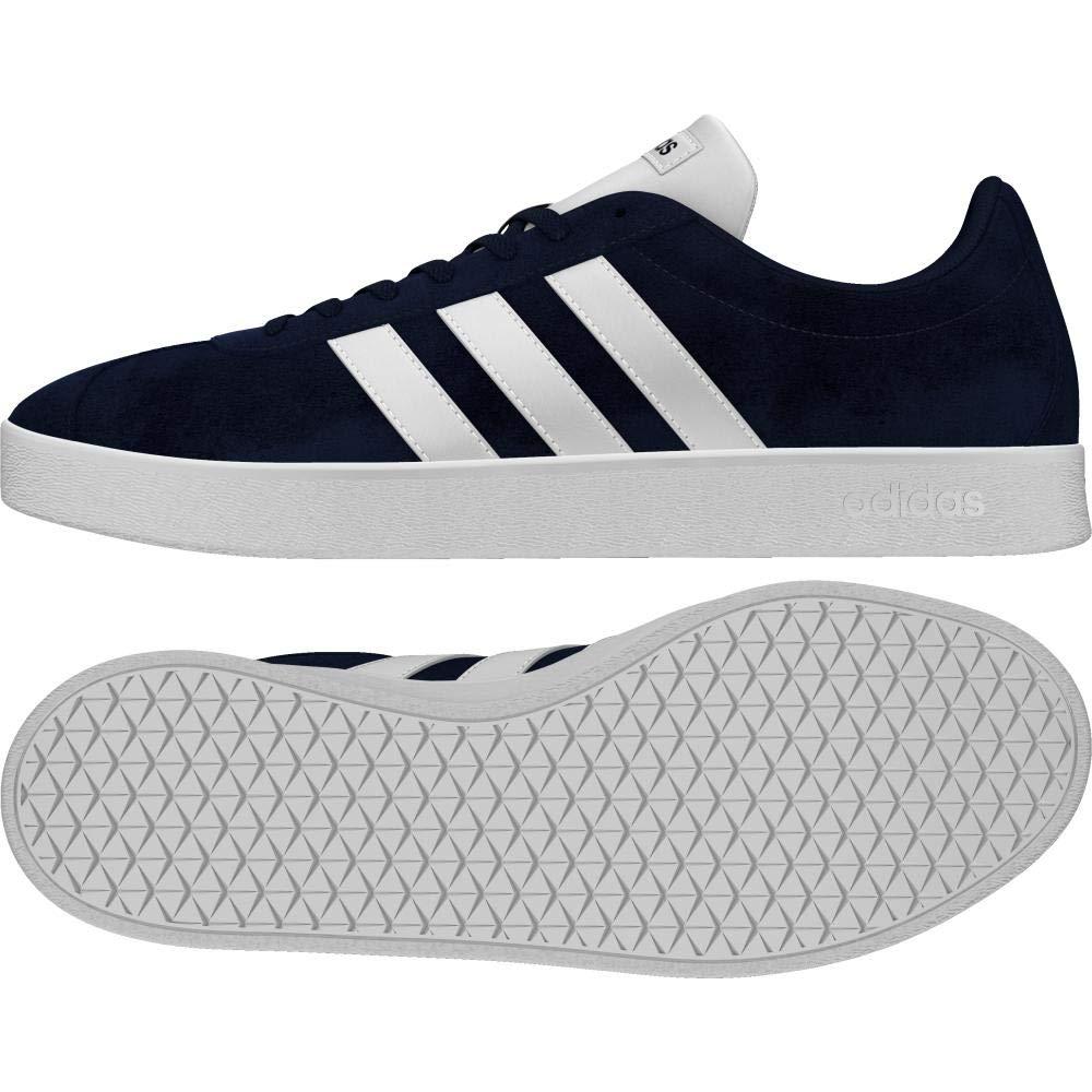 TALLA 37 1/3 EU. adidas VL Court 2.0, Zapatillas de Skateboard para Hombre