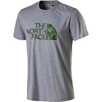 L Weiß/ Bekleidung The North Face Raglan Einfach T-Shirt