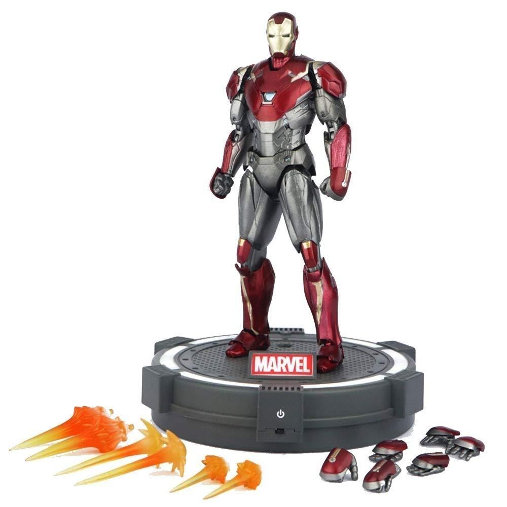 Lfy Spielzeugmodell Filmfigur Marvel Avengers Iron Man Modell Joint Bewegliche Spielzeugpuppe 15CM