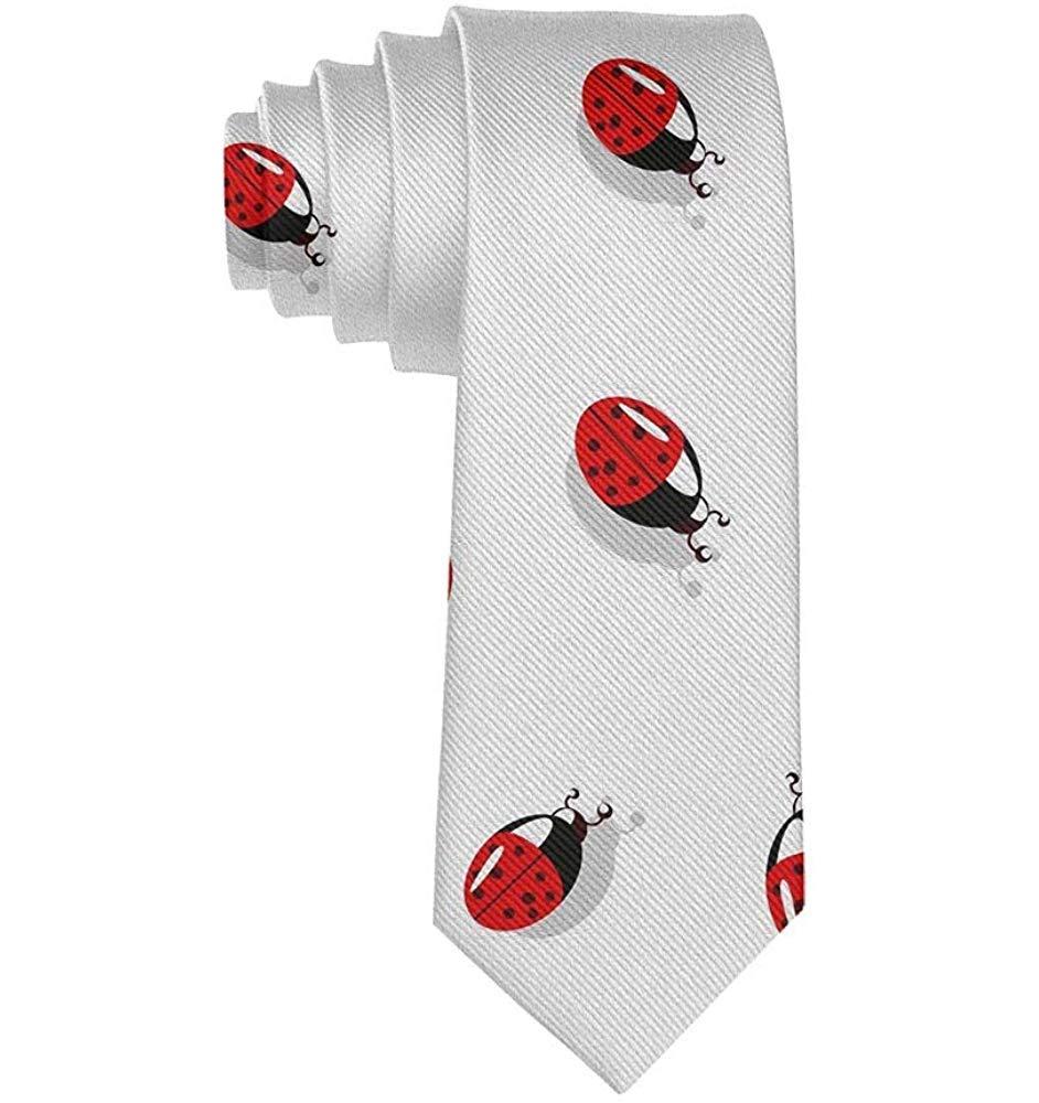 Corbatas de poliéster para niño Mariquita linda Insecto Moda Traje ...