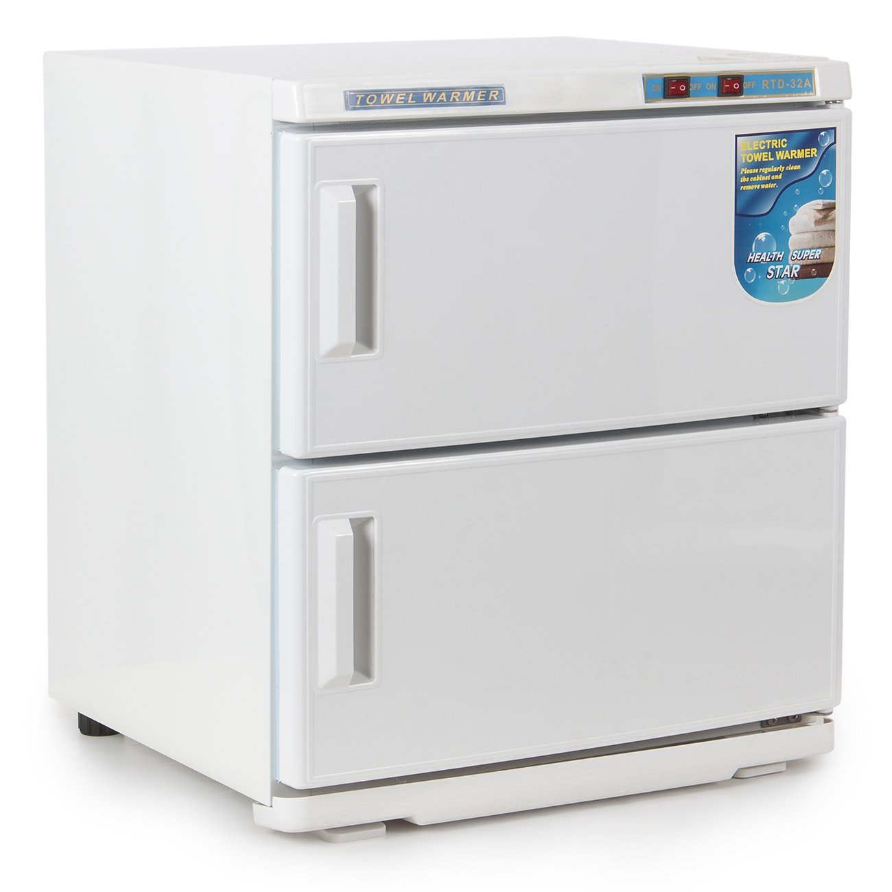 Bellavie 2-in-1 Electric Towel Warmer & Ultraviolet Sterilizer Cabinet Beauty Salon Equipment, 2 Cabinet, 32L