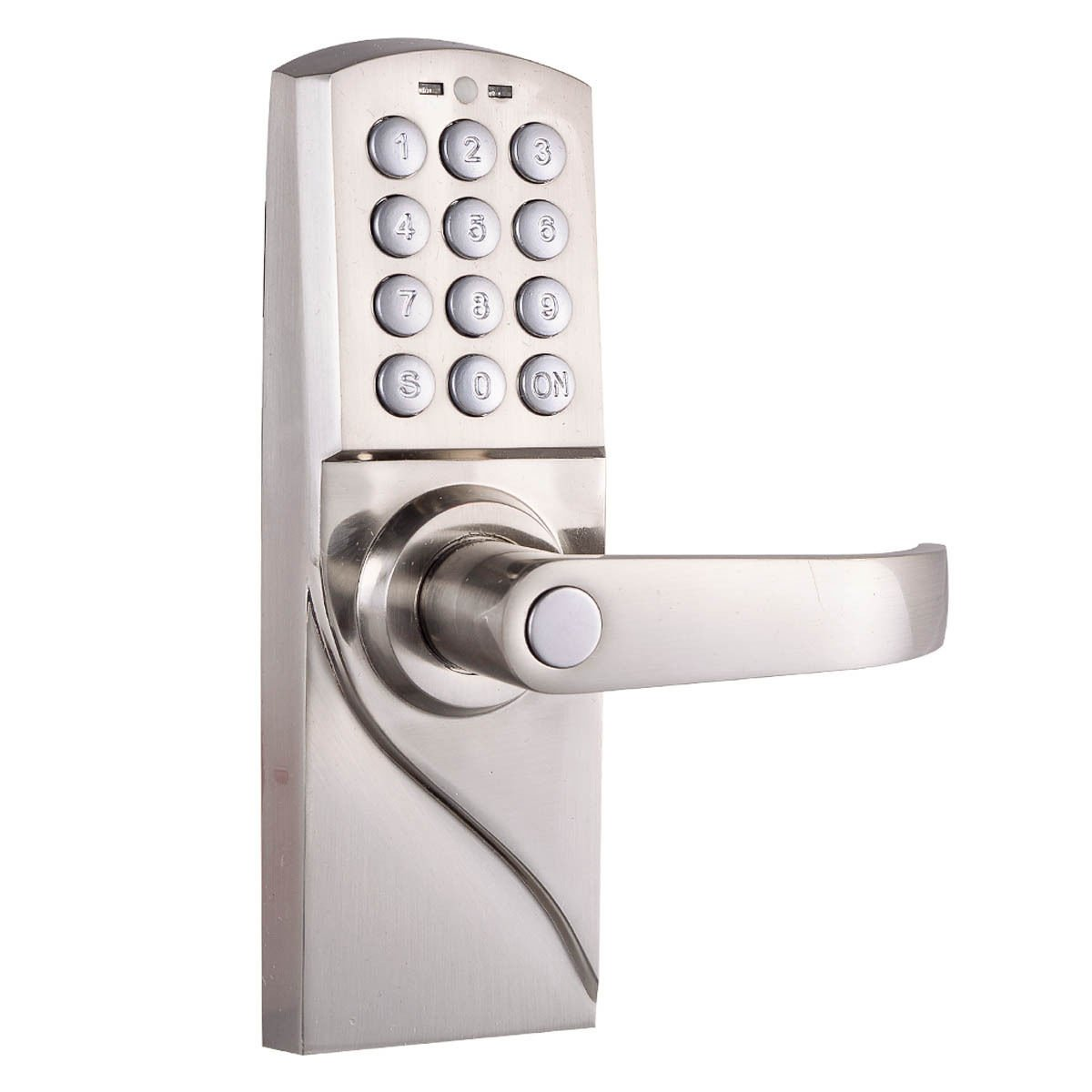 Good Amazon.com : Digital Electronic/Code Keyless Keypad Security Entry Door Lock  Right Handle New : Camera U0026 Photo