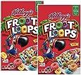 Kellogg's Froot Loops ケロッグ フルーツループ マルチグレイン・シリアル 2箱 [並行輸入品]