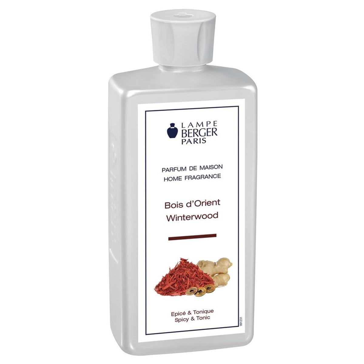 Lampe Berger - Profumo per ambienti, aroma: Legno d'oriente, 500 ml [Classe di efficienza energetica A+++] aroma: Legno d' oriente 115036 B001TE6U8C