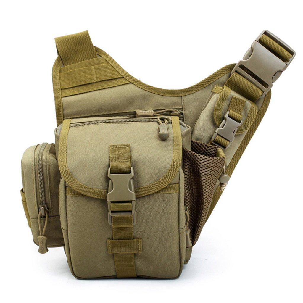 カメラバッグ フォトバッグ ショルダーバッグ アウトドアバッグ 小型 斜めバッグ 盗難防止 防水 ライディングバッグ (サイズ: 16.51219cm) B07J43CVJT