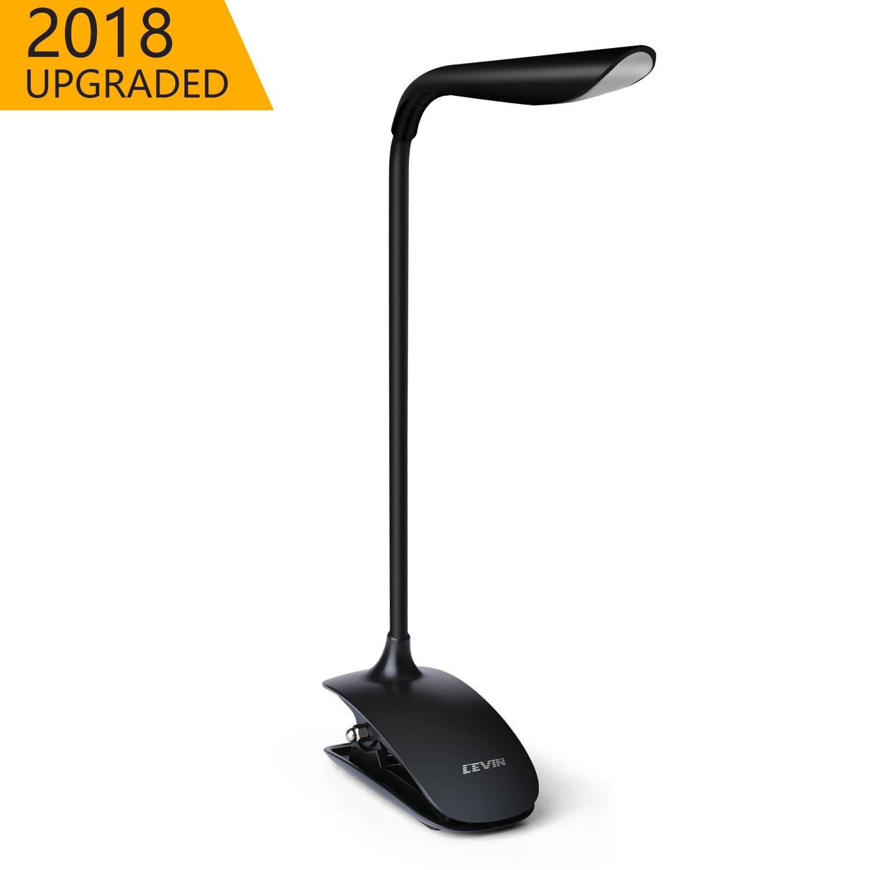 Lámpara LED de Lectura,LEVIN Luz con USB Recargable Cuidado de los Ojos Control Táctil con 3 Niveles de Brillo LIGHT-1