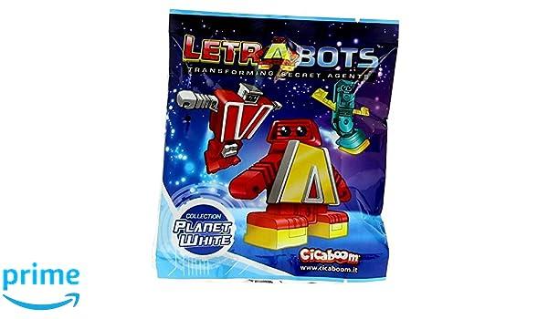 LETRABOTS LAS LETRAS QUE SE TRANSFORMAN EN ROBOTS! SOBRES SORPRESA!: Amazon.es: Juguetes y juegos