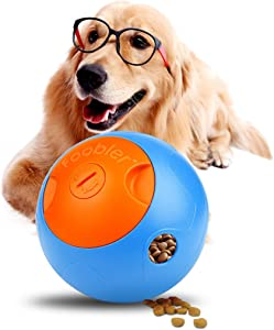 Yoyipet Foobler Electronic timed Treat Dispenser for Dogs, Best Interactive Dog Puzzle Toys for Training and Slow Feeder