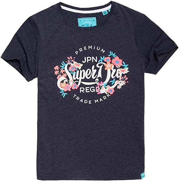 Superdry Classic Script Damen T-Shirt