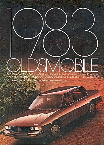 1983 Oldsmobile Full Line Sales (Oldsmobile Full Line Sales Brochure)