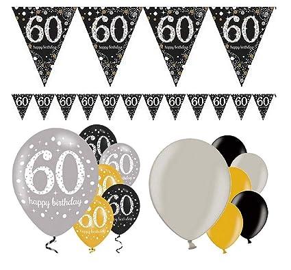 Decoración de cumpleaños Fiesta Fiesta Fiesta 60 cumpleaños ...