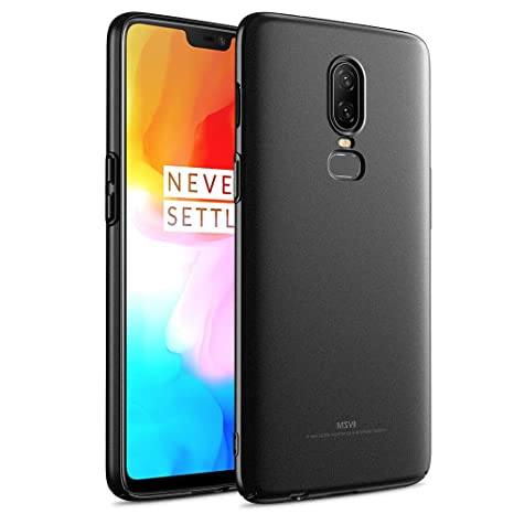 dbb7318bff Msvii Matte Hard Case for Oneplus 6 Ultra Thin Plastic: Amazon.in:  Electronics