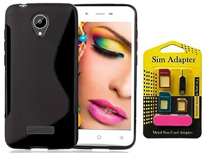 san francisco c502a 90f2b Micromax Canvas Blaze 4G Q400 Back Case Cover + Metal: Amazon.in ...
