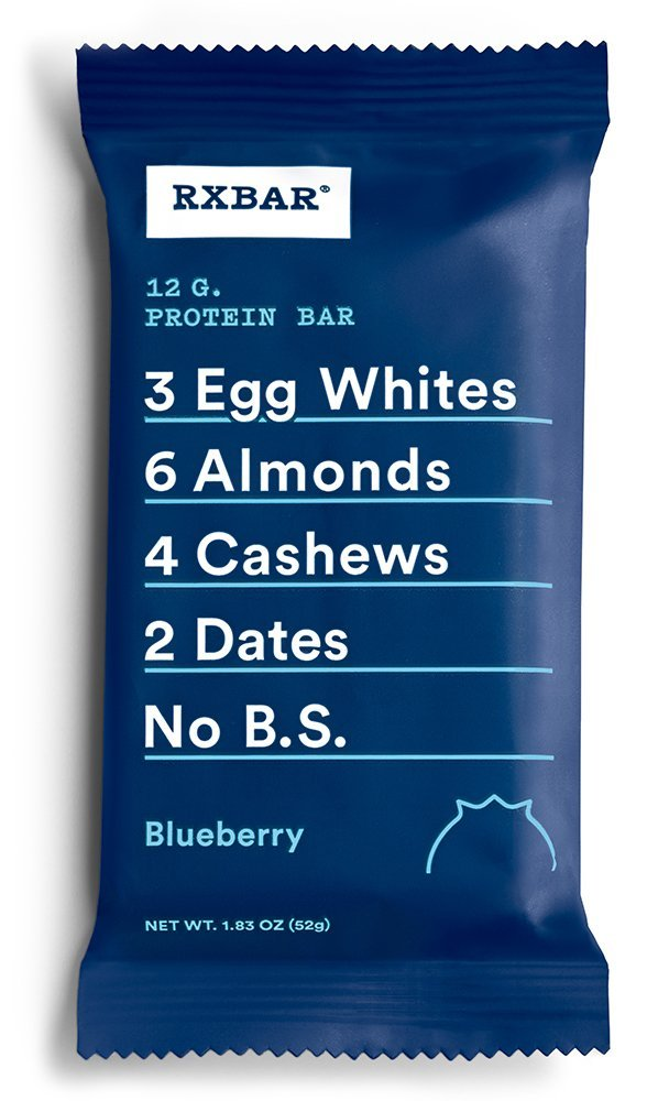 Rxbar, Bar Blueberry Case, 1.83 Ounce, 12 Pack by RXBAR (Image #1)