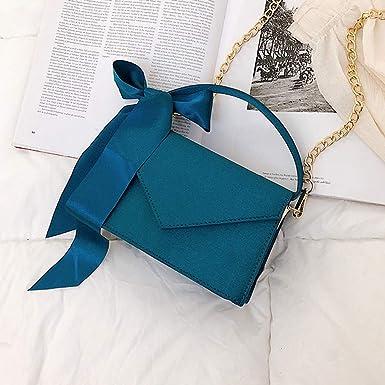 Longra bolso de Cinta de Color Liso para Mujer, Vestido de fácil Uso, Bolso Bandolera: Amazon.es: Ropa y accesorios