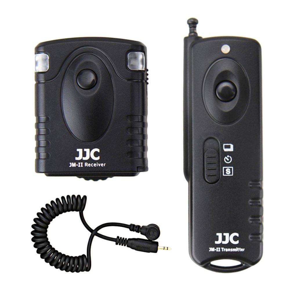 Wireless Shutter Remote Control JJC Remote Shutter Release Controller for Canon 7D MARK II 6D Mark II 5D Mark IV 5D Mark III 5D Mark II 5DS R 1D Mark IV 1Ds Mark III 1D X Mark II 60D 50D 40D