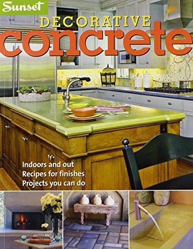 Concrete Sun - Decorative Concrete (Sunset)