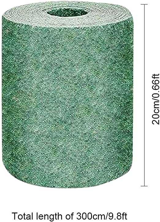 Biodegradable Grass Seed Mat Fertilizer Garden Picnic 20*300cm NEW