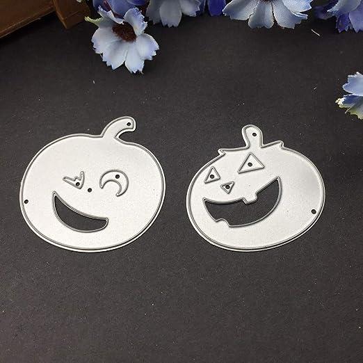 Yunso Halloween K/ürbis Metall Stanzformen Schablone DIY Scrapbooking Album Stempel Papier Karte Pr/äge Handwerk Decor