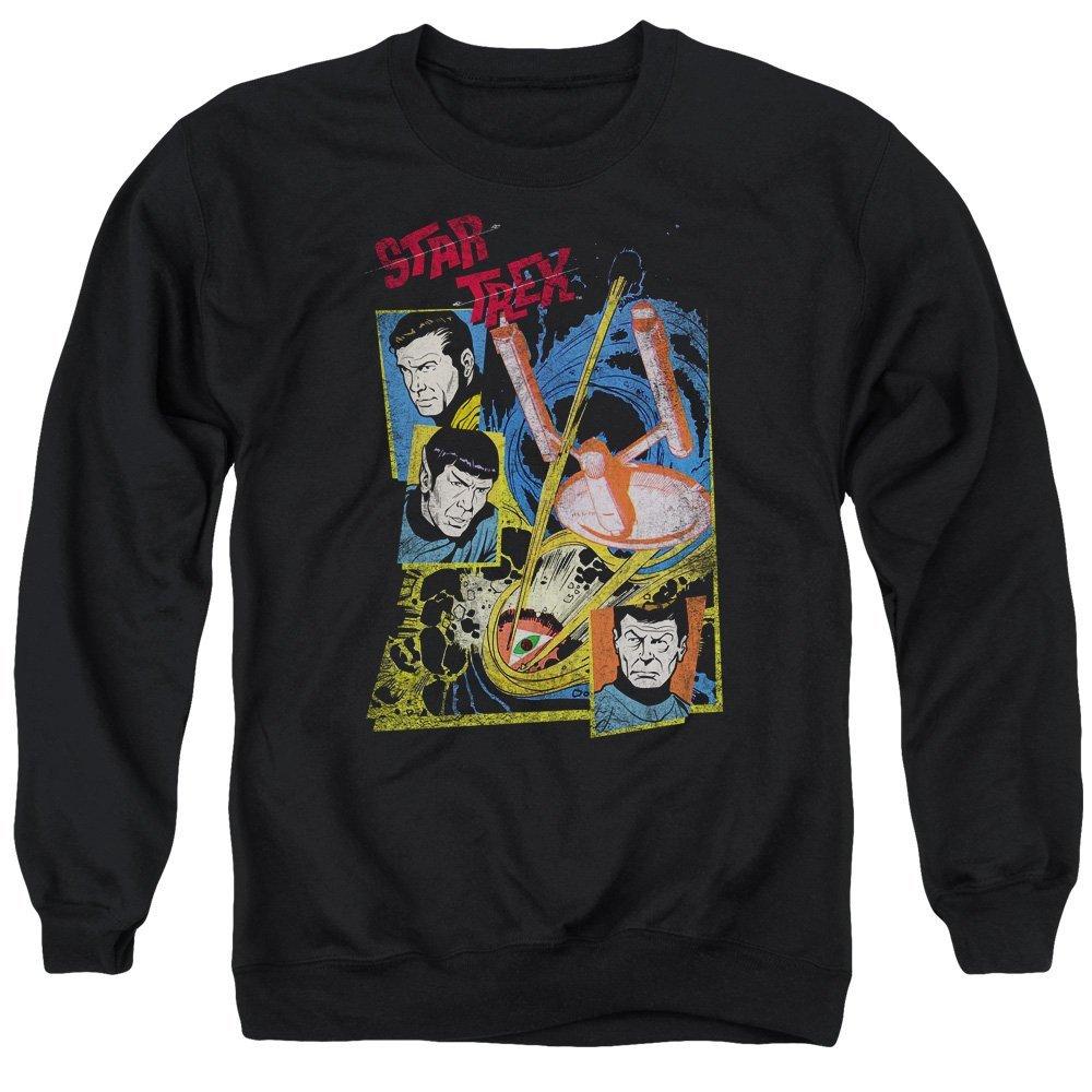 Star Trek Eye Of The Storm Adult Crewneck Sweatshirt