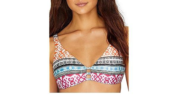 344e61cf4f Amazon.com: Becca by Rebecca Virtue Bora Bora Wire-Free Reversible Bikini  Top: Becca by Rebecca Virtue: Clothing