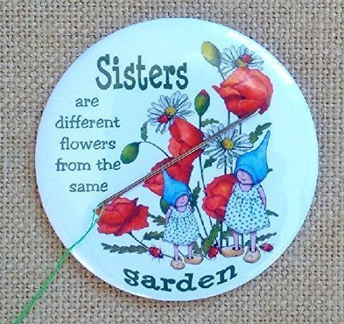 Magnetic Needle Minder or Fridge Magnet, 3.5