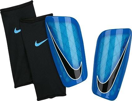 factory price latest fashion best price Nike Mercurial Lite Shinguards - Unisex, blue: Amazon.co.uk ...