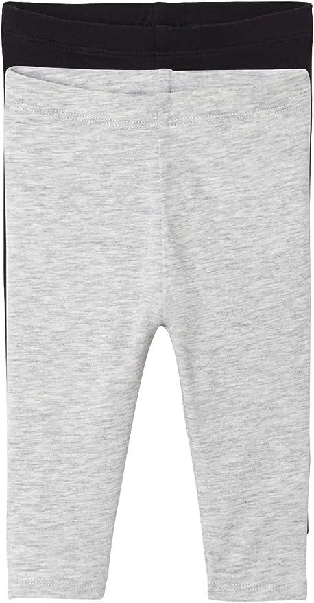 VERTBAUDET Lot de 2 leggings longs b/éb/é fille Lot noir 12M 74CM
