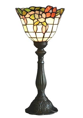 Nobeiyi lighting tiffany style torchiere table lamps8 inch diameter nobeiyi lighting tiffany style torchiere table lamps8 inch diametermulti color aloadofball Choice Image