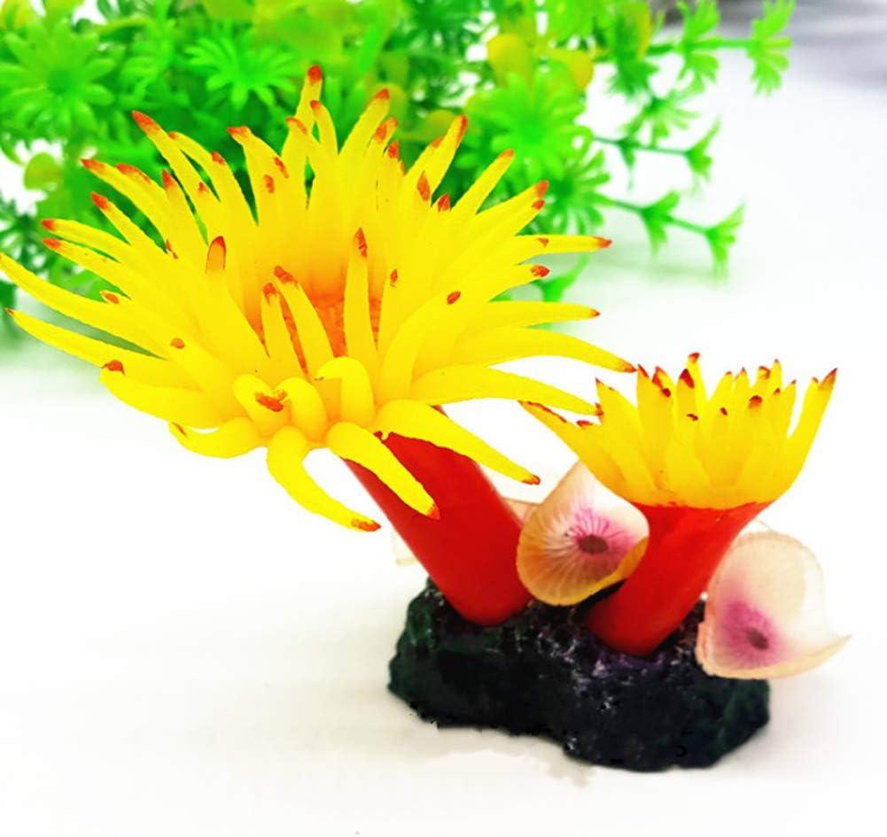 YOUNICER DIY Silicone Resin Simulation Coral Fish Tank Aquarium Landscaping Decoration