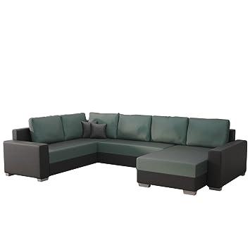 Mirjan24 Ecksofa Olga Sale!, Elegante Big Couch, Design U Form Eckcouch,