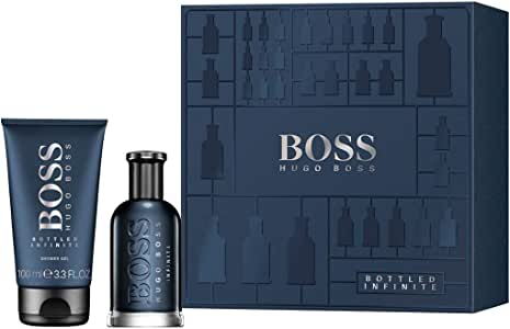 Estuche para hombre Hugo Boss Bottled Infinite Perfume Eau de Parfum 50 ml + Shower Gel 100 ml Giosal: Amazon.es: Belleza