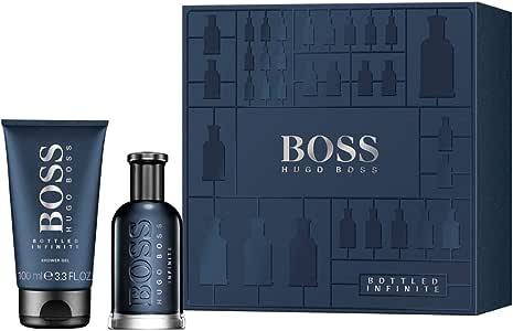 Estuche para hombre Hugo Boss Bottled Infinite Perfume Eau de Parfum 50 ml + Shower Gel 100 ml Giosal: Amazon.es: Belleza