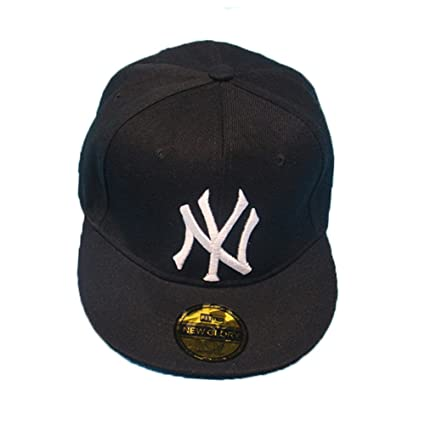 91d7763329c TAOTAO Mens Womens Baseball NY YANKEES Cap Adjustable Snapback Sport Hip-Hop  Hat Unisex(Black)  Amazon.ca  Home   Kitchen