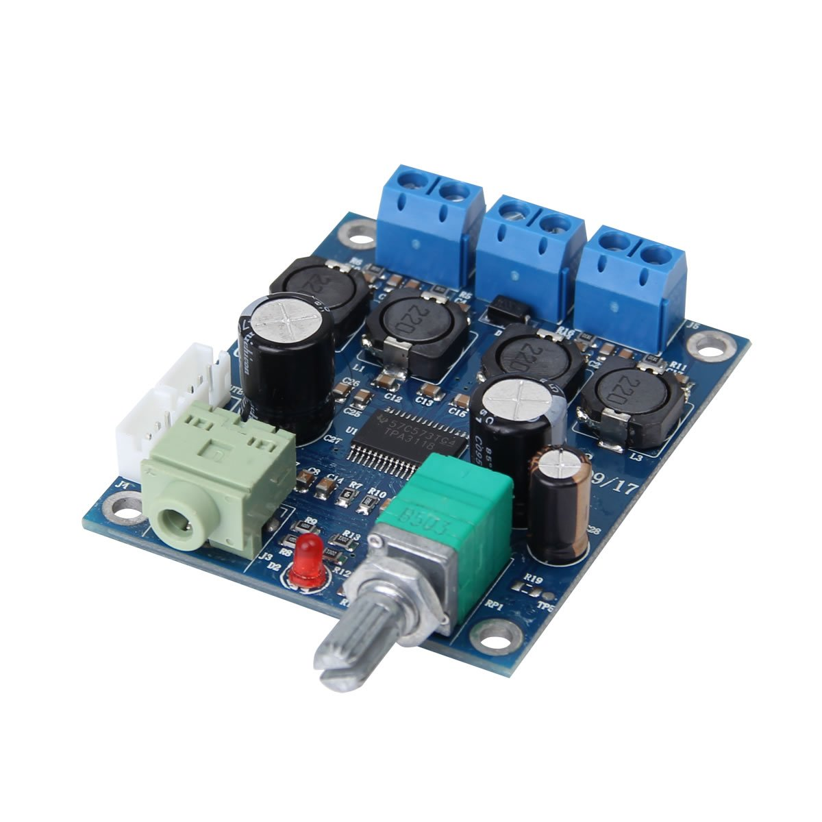 25w Tpa3118 Digital Mini Audio 12v Power Amplifier Module Class D Circuit Tpa3116d2 Tpa3118d2 Subwoofer Pcb Board Hi Fi Speakers