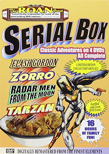 (The Roan Group Serial Box: Radar Men From The Moon, The New Adventrues of  Tarzan, Zorro's Righting Legion, Flash Gordon Conquers the Universe (16 Hours of Family Fun))