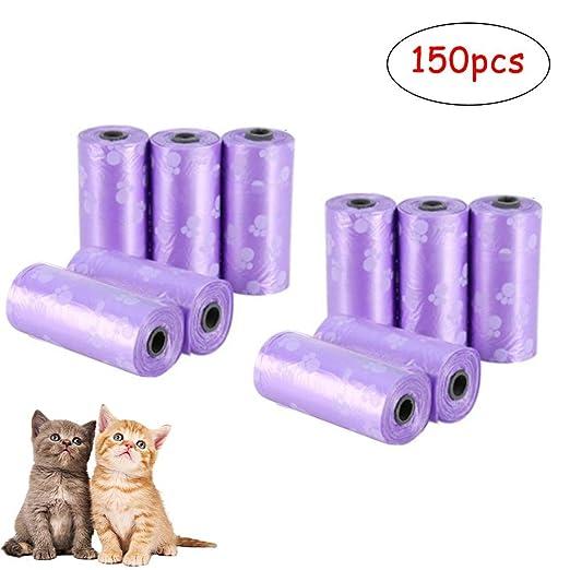 Baiwka bolsas biodegradables para caca de perro, 10 rollos ...