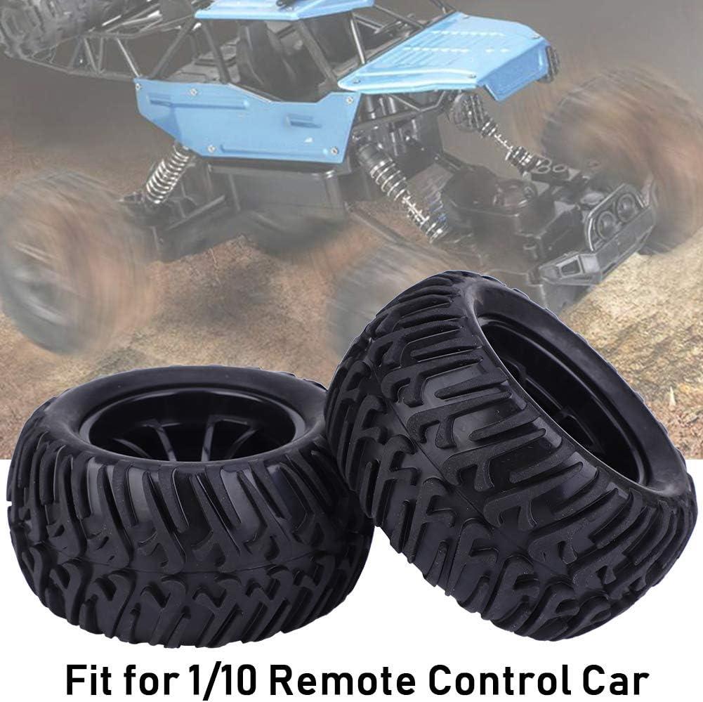 125 mm Y Typ RC Autoreifen Ersatz Zubeh/ör f/ür 1 10 ferngesteuertes Automodell Dilwe RC Rad Reifen schwarz