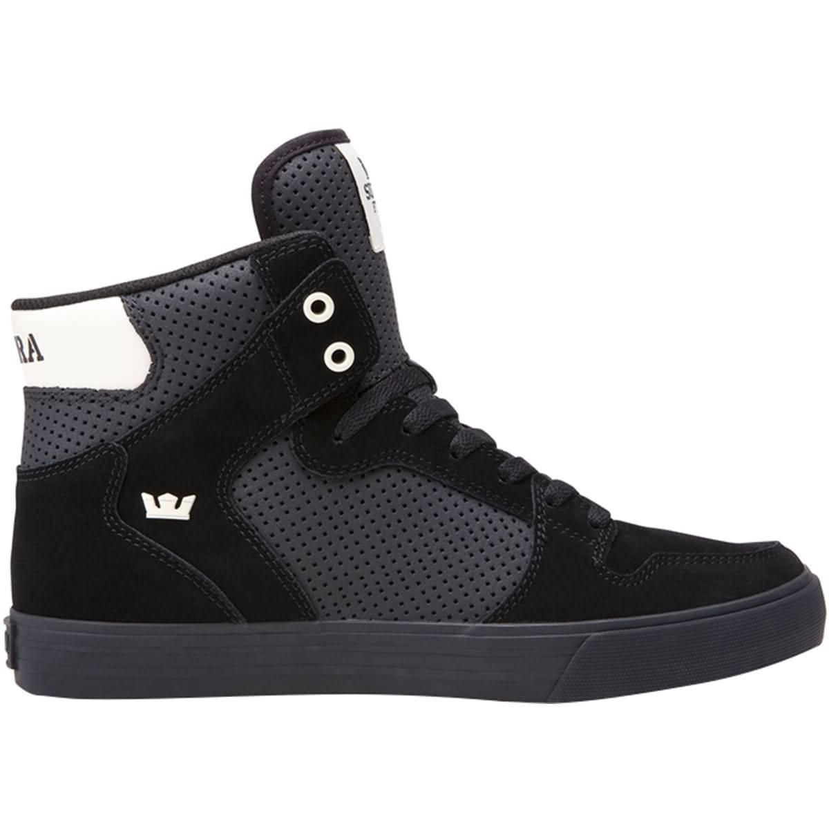 Supra Vaider LC Sneaker B078ZKVVX6 9.5 M US|Black/Off White-black