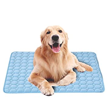 BOENTA Cool Mat para Perros Self Cooling Gel Mat Dog Cooling Mat House Outdoor Cool Pad