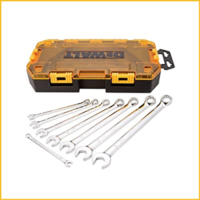 DEWALT Combination Wrench Set, SAE, 8 pieces (DWMT73809)
